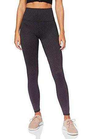AURIQUE Amazon Brand - vrouwen Ombre Yoga Leggings, (Nightshade),10