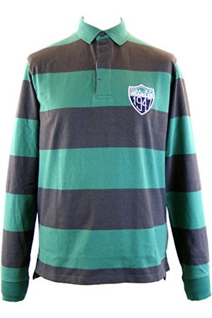 Wrangler Heren L/S Rugby Polo Posy Shirt