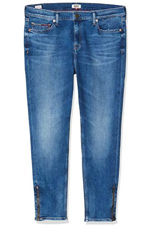 Tommy Hilfiger Nora Mid Rise Skny Ankl Zip Mnm Straight Jeans voor dames