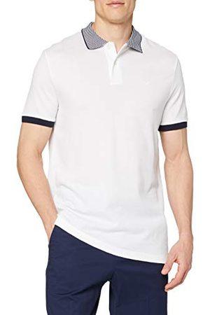 Hackett Heren Stripe Cllr Blend Polo Shirt