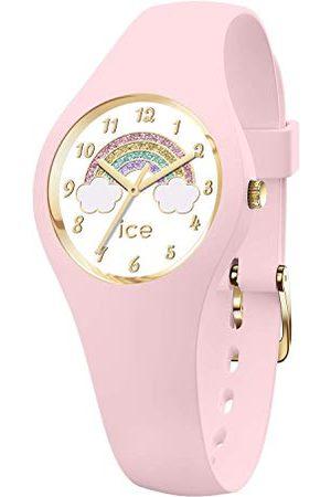 Ice-Watch ICE fantasia Rainbow pink - meisjeshorloge met siliconen armband - 018424 (Maat XS)