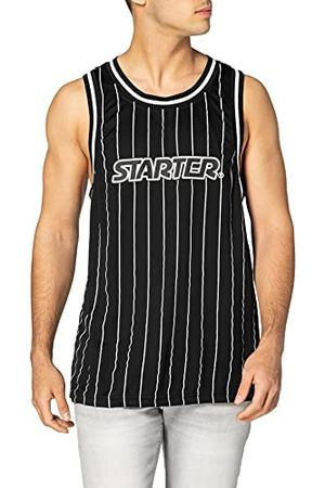 STARTER BLACK LABEL Heren Starter Pinstripe Tank Top T-shirt