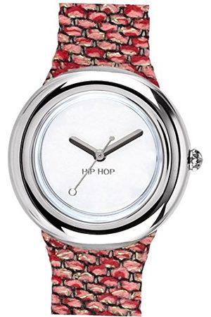 Hip Dames analoog kwarts horloge met siliconen armband HWU0747