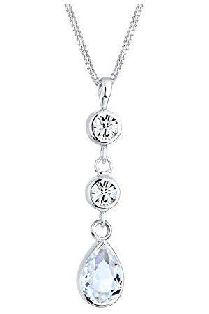 Elli Dameshalsketting 925 sterling zilver Swarovski-kristal 45 cm 0109240613_45