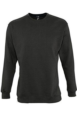 Sols New Supreme sweatshirt unisex donkerantraciet T XL