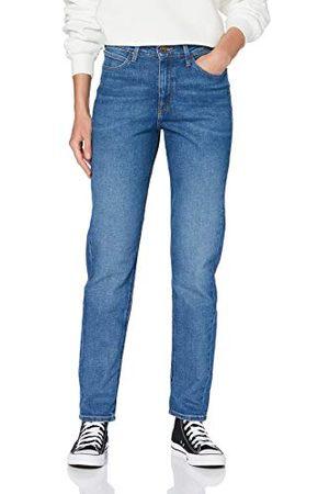 Lee Mom Straight Jeans voor dames.
