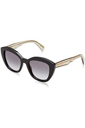 Roberto Cavalli Dames JC864S zonnebril, (Shiny Black/Smoke), 52