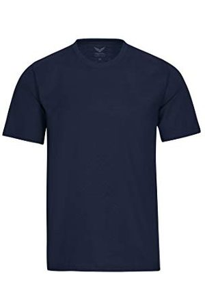 Trigema T-shirt dames industriële kleding, (blauw 046)