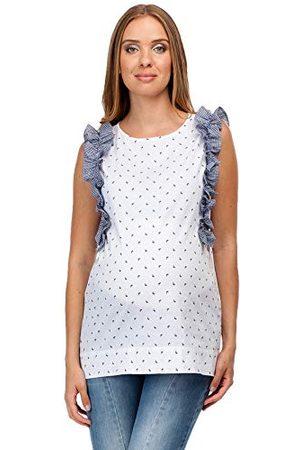 Pietro Brunelli Top T-shirt met korte mouwen voor dames.