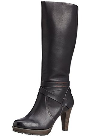 s.Oliver 5-5-25608-25, ongevoerde klassieke hoge laarzen dames 36 EU
