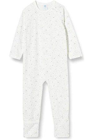 Sanetta Baby-meisjes overall broken wit pyjama voor kleine kinderen