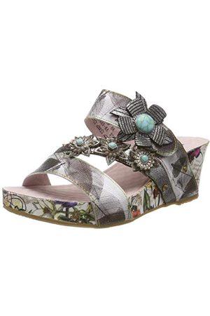 LAURA VITA 0002405, open sandalen met sleehak Dames 41 EU