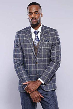 Wessi Mannen slanke pasvorm Onvervalsbare pakken suit - Dress set, , 58