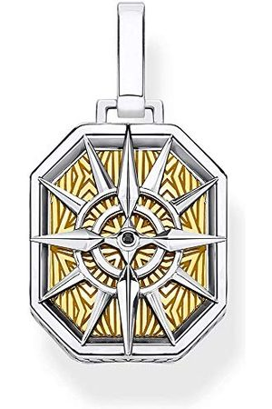 Thomas Sabo Unisex hanger kompas 925 sterling zilver geelgoud verguld PE867-849-7