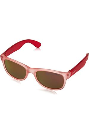 Polaroid Kids' P0115 OZ MZF zonnebril, Rose Fuchsia/Red Grey Speckled Pz, 46