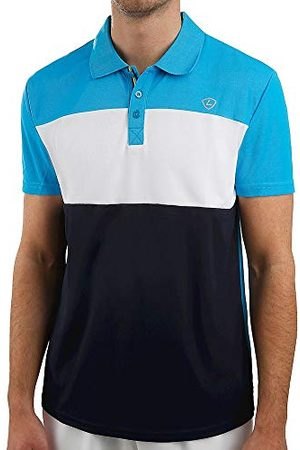 Limited Sports Heren Sports, Pino Polo Donkerblauw, Wit, S bovenkleding, S