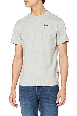 Schott NYC T-shirt, korte mouwen, vintage stijl, heren.