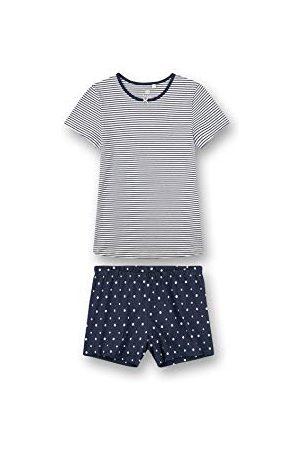 Sanetta Meisjespyjama kort pyjamaset