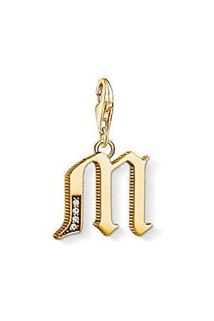 Thomas Sabo Bedelhanger voor dames L letter Charm Club 925 sterling zilver 1618-414-39