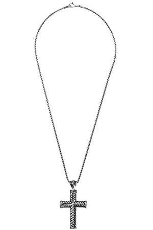 Burgmeister Burgmeister unisex ketting met hanger roestvrij staal 50 cm - JBM1169-449