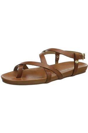 Fred de la Bretoniere Frs1011, platte sandaal voor dames.