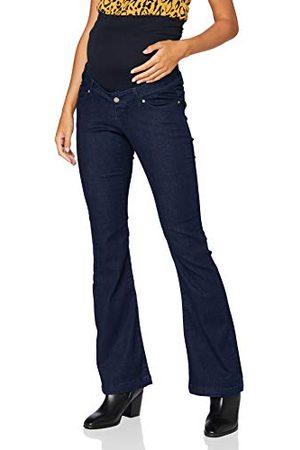 Noppies Dames OTB Flared Senna Ink Blue Jeans