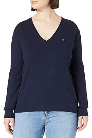 Tommy Hilfiger Dames Tjw Soft Touch V-hals Sweater Pullover