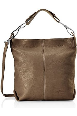 Bags4Less YENNA TAUPE, schoudertas dames 7x32x30 cm (B x H x T)
