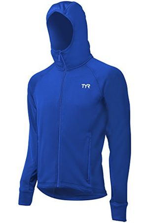 Tyr Heren Alliance Victory Warm Up Jacket - Royal, Large