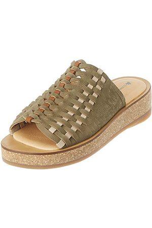 El Naturalista N5593, open sandalen met sleehak dames 38 EU