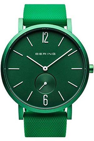 Bering Unisex analoog kwartshorloge met siliconen armband 16940-899