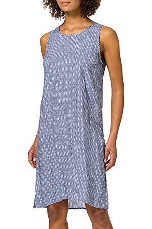 Blue Seven Dames all-over print, boothals jurk