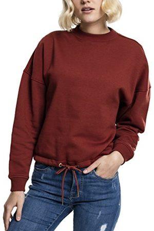 Urban classics TB1523 dames sweatshirt oversized, ronde maat, kleur