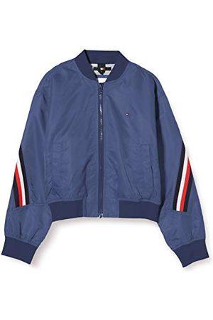 Tommy Hilfiger Meisje Global Stripe Taped Bomber Jacket