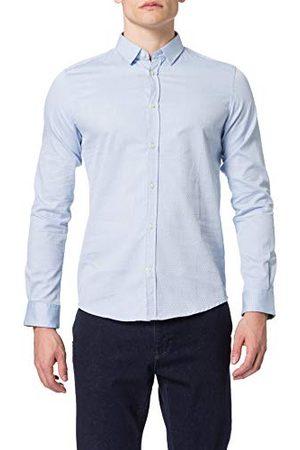 TOM TAILOR Fitted Dobby overhemd voor heren.