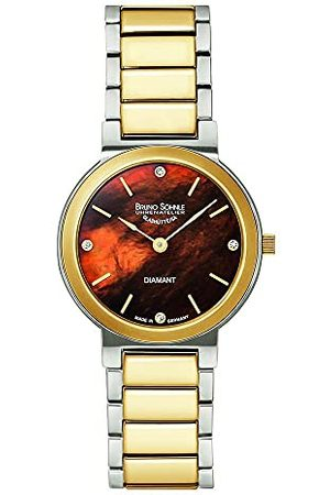 Soehnle Bruno Söhnle dames analoog kwarts horloge met roestvrij stalen armband 17-23108-492
