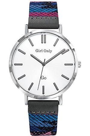GO Girl Only Dameshorloge, analoog, kwarts, met armband van stof 699147