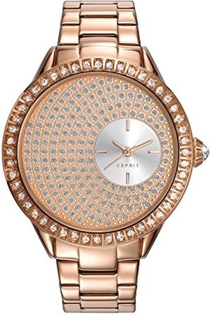 Esprit Womens analoge klassieke quartz horloge met roestvrij stalen band ES109552003
