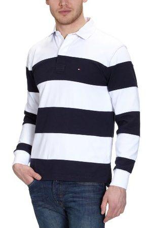 Tommy Hilfiger Heren sweatshirt, gestreept 887811331 / BASIC BLOCK STP RUGBY LS RF