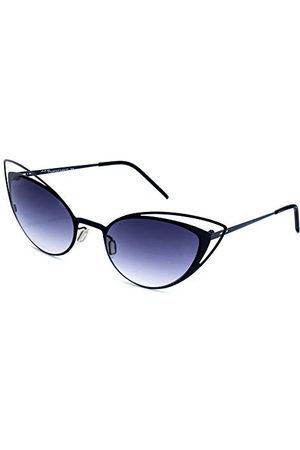 Italia Independent Italia Onafhankelijke vrouwen 0218-009-000 zonnebril, (Negro), 52.0