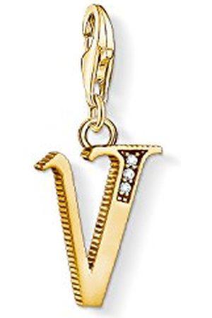 Thomas Sabo Dames-bedelhanger U letter Charm Club 925 sterling zilver 1627-414-39