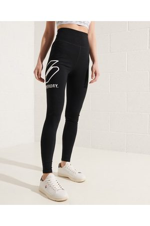 Superdry Sportstyle legging met logo