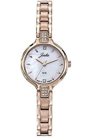 Joalia 630614 dameshorloge, analoog, kwarts, met roestvrij stalen armband