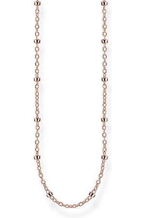 Thomas Sabo KE1890-415-40-L90 Jasseronketting, 925 sterling zilver, roségoud verguld