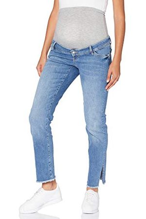 Mama Licious Mlcrystal Straight Cropped A. Jeans voor dames