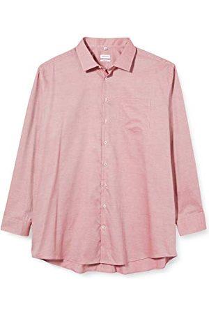 Seidensticker Effen herenoverhemd met kentkraag en structuur, regular fit, lange mouwen, businesshemd