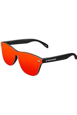 Northweek Unisex volwassene Regular PHANTOM FLAKA zonnebril, (Red), 140.0