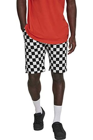 Urban classics Heren Check Twill Shorts