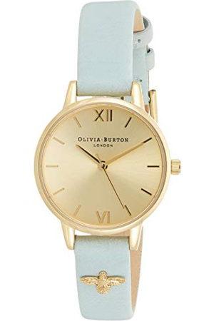 Olivia Burton Vrouwen analoog Japans Quartz horloge met lederen band OB16ES17