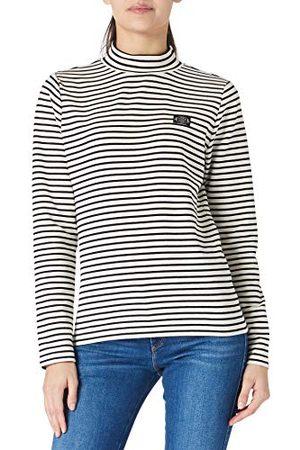 Scotch&Soda Dames T-shirt met lange mouwen mini-bretonstrepen